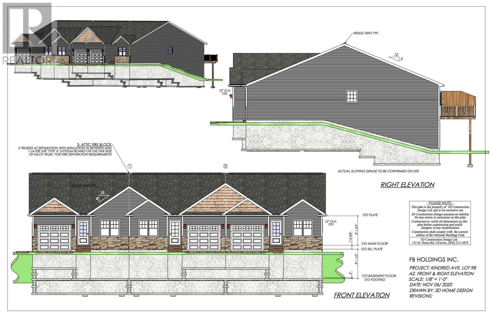 2 TBD Kindred Avenue2 TBD Kindred Avenue, East Royalty, Prince Edward Island C1C1S8, 3 Bedrooms Bedrooms, ,3 BathroomsBathrooms,Single Family,For Sale,2 TBD Kindred Avenue,202120005